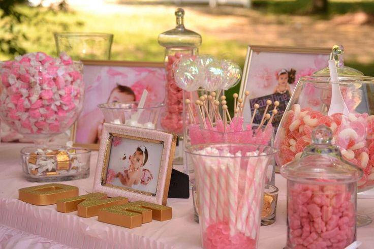 Wedding Theme Pink And Gold Birthday Party Ideas 2394503 Weddbook