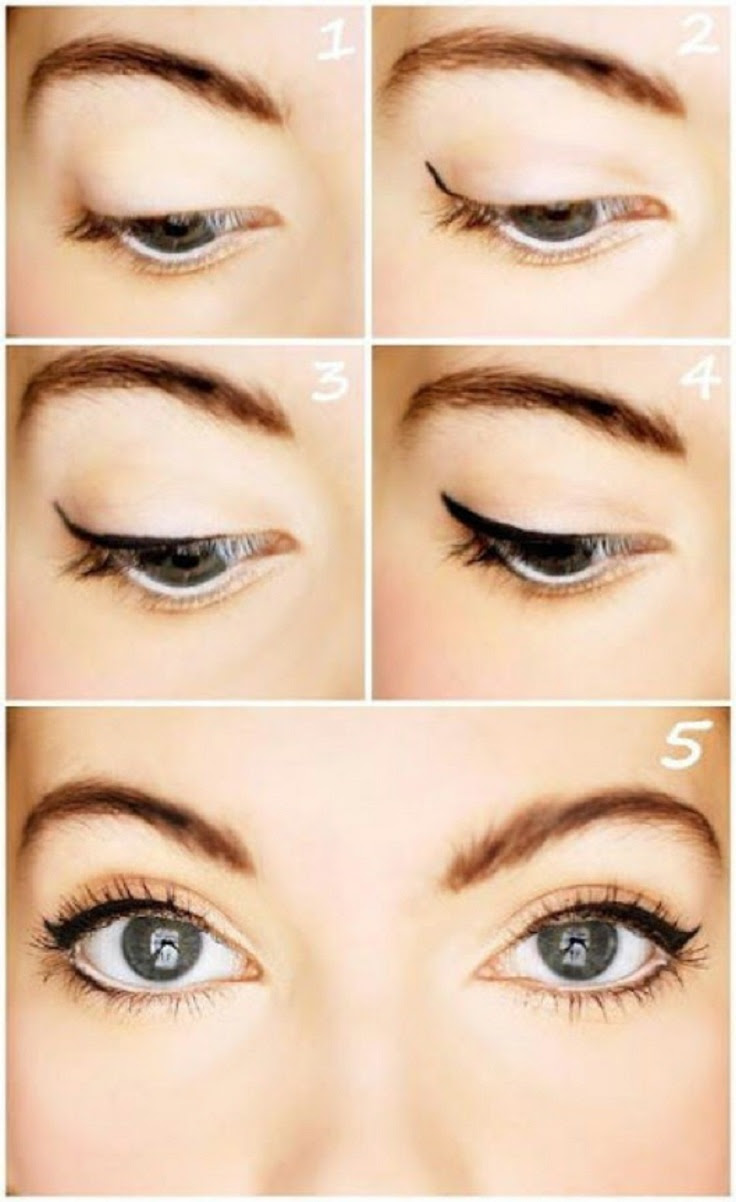 Makeup eyes easy