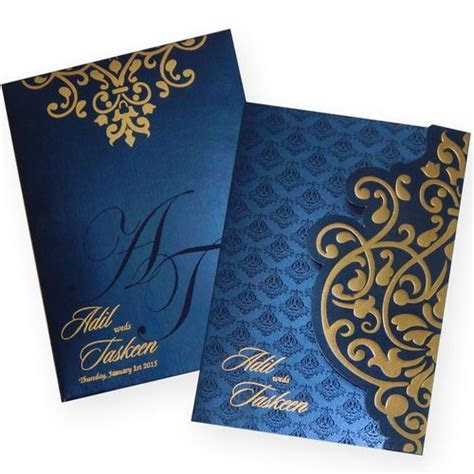 #muslim wedding cards, #scroll wedding cards   cards in