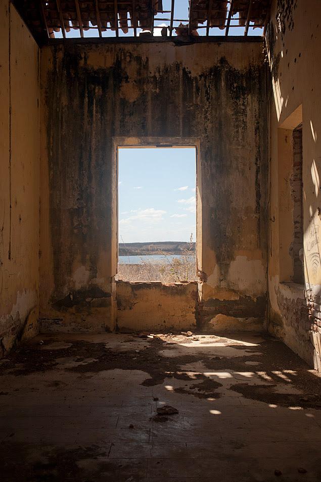 Ruínas do campo de concentração de retirantes de Senador Pompeu