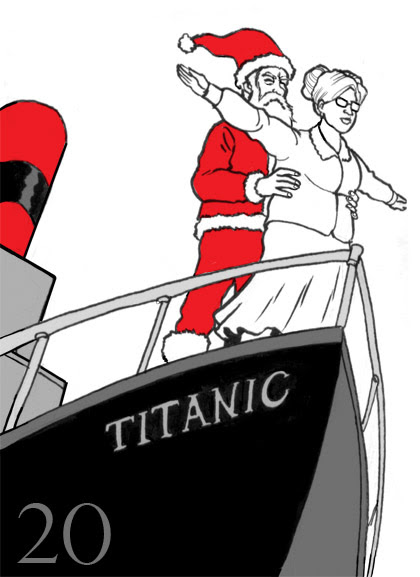 Titanic Santa (and Mrs. Claus)