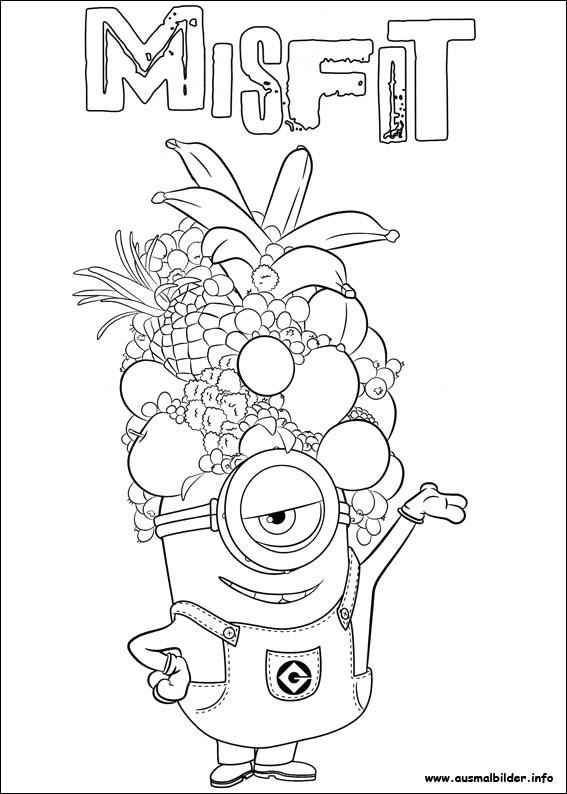 malvorlagen minions zum ausdrucken  kinder zeichnen und