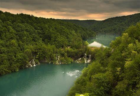 wallpaper croatia plitvice lakes national park forest