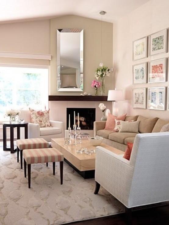 15 Inspiring Beige Living Room Designs - DigsDigs