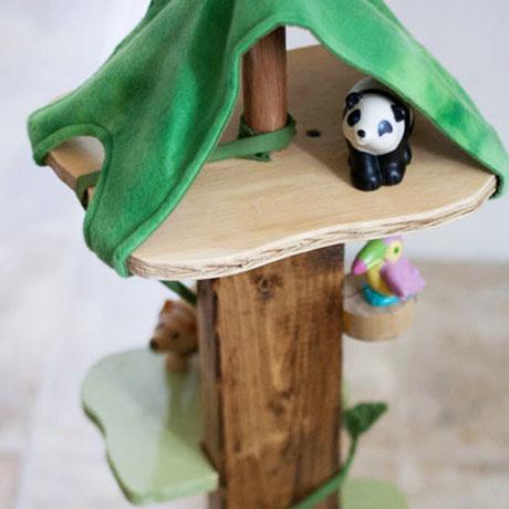 wooden animal treehouse diy plans animalz