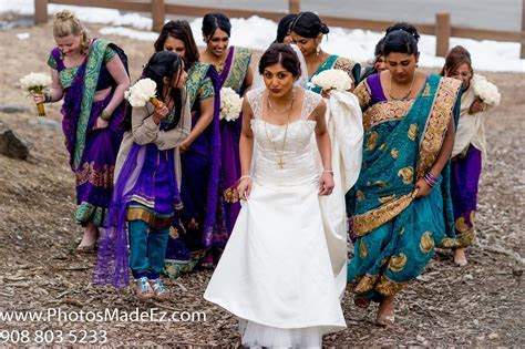 Bridal Party in Malayalee South Indian Christian Wedding