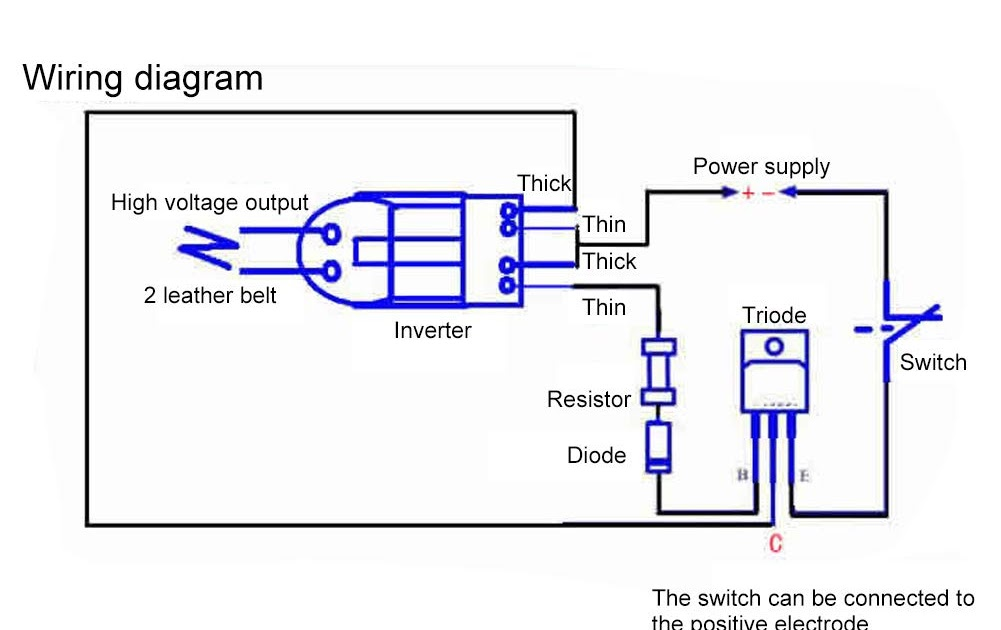 32 High Voltage Generator Circuit Diagram - Wiring Diagram ...