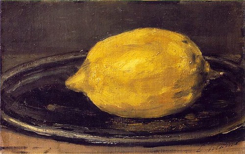 The Lemon, Edouard Manet