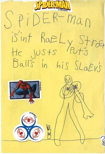 Ava Thursday: Spider-Man Revealed! 1