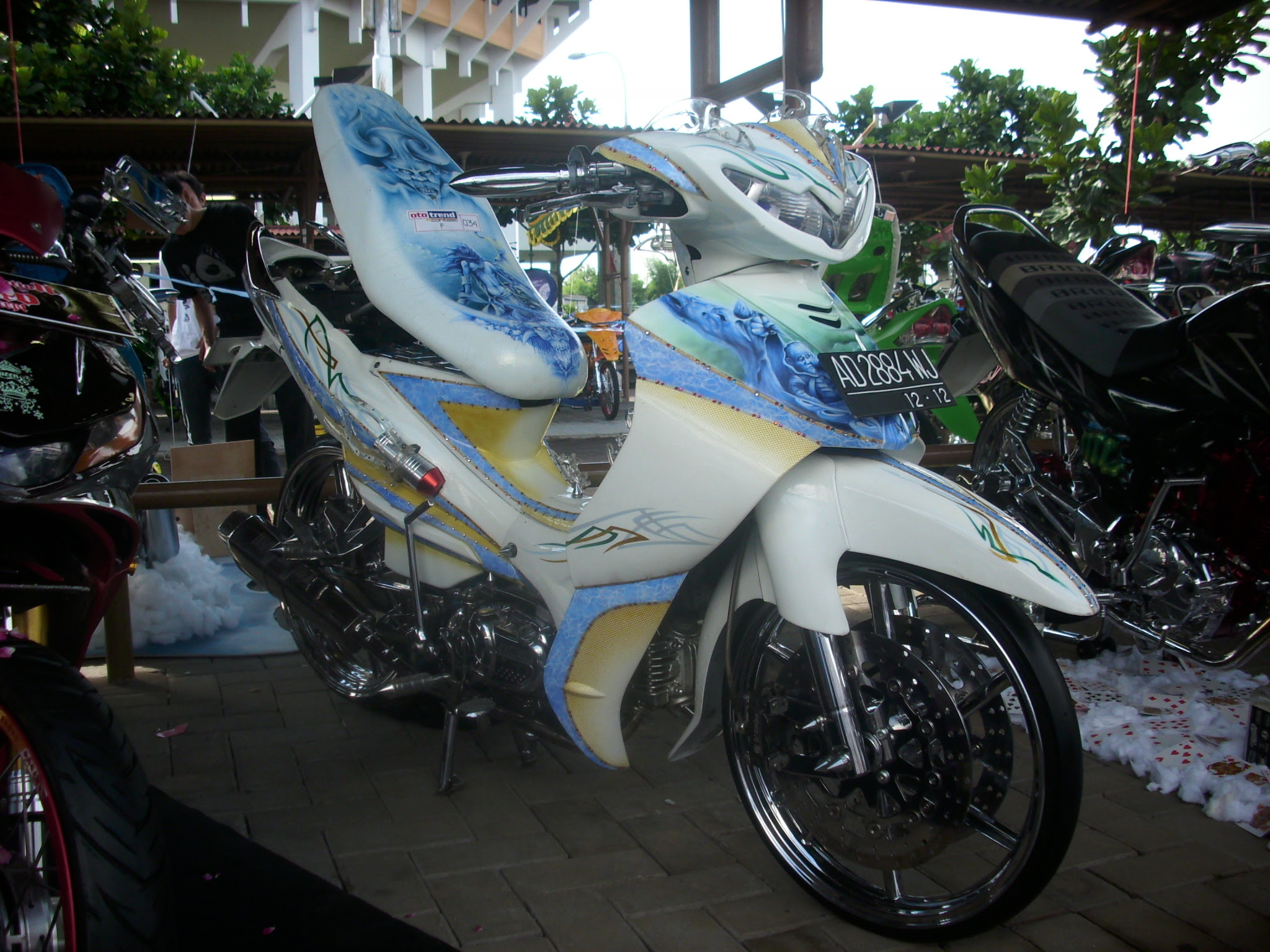 Harga Modifikasi Motor Honda Beat Gambar Modifikasi Terbaru