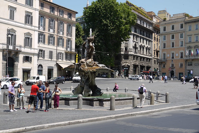 Piazza Barberini 巴貝里尼廣場