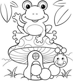Spring Time Coloring Pages at GetDrawings | Free download