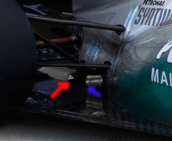Mercedes GP W02 Esclusivo:La MGP W02 ha il buco