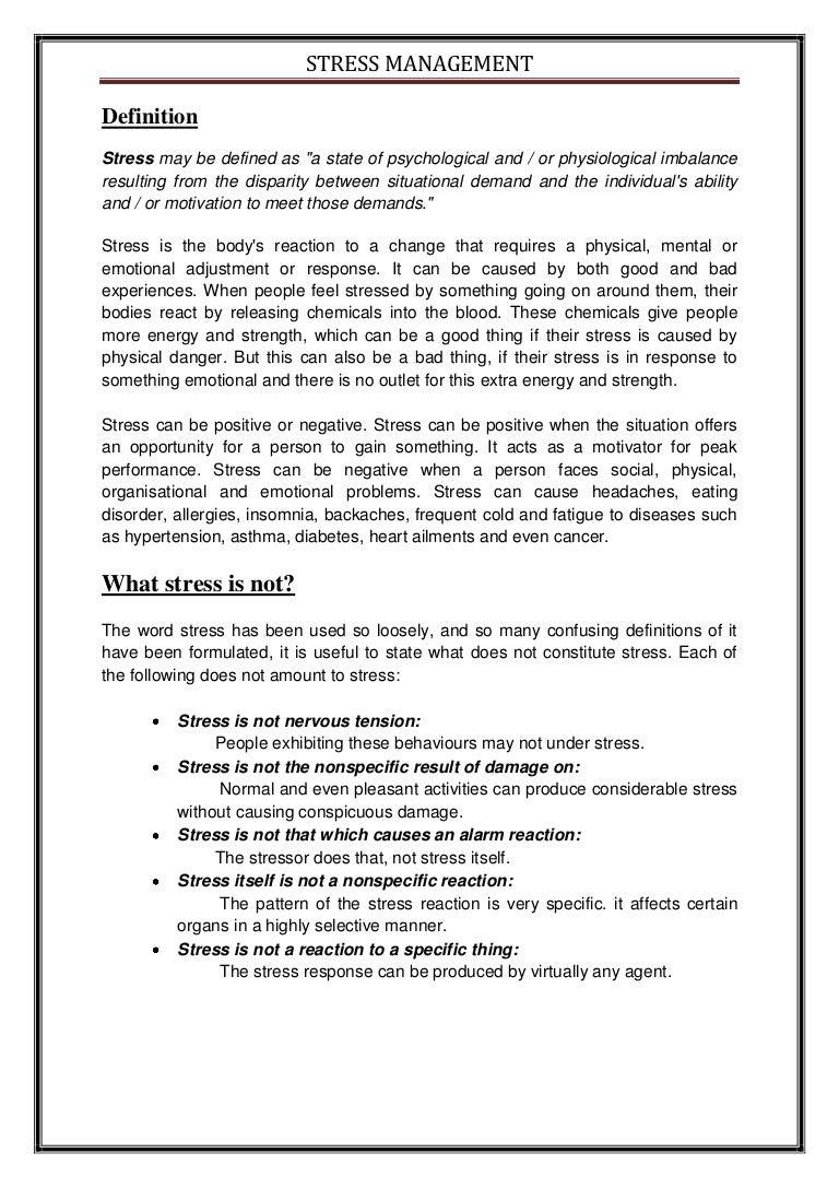 Stress reduction plan template. GlobalHealth. 2019-02-04