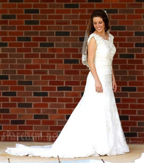 Derick Dillard and Jill Duggar's wedding photo and details