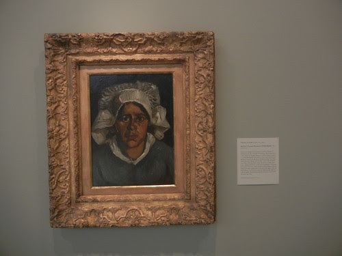 DSCN7765 _ Head of a Peasant Woman in a White Bonnet, 1885, Vincent van Gogh (1853-1890), Norton Simon Museum, July 2013