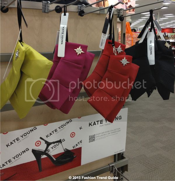 Kate Young for Target clutches