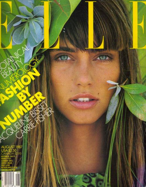 Elle, August 1987Model: Roberta Chirko