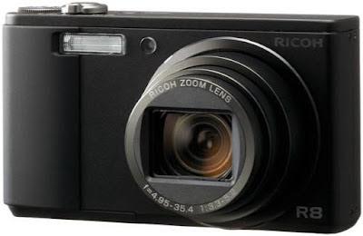 Ricoh Caplio R8 digital camera - Review