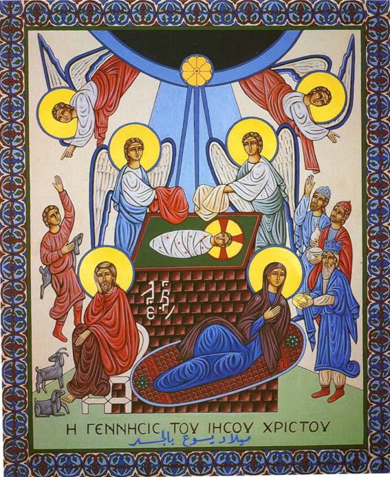 Resultado de imagem para Nascimento de Jesus Icones