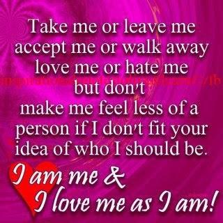 Take Me As I Am Quotes Tumblr