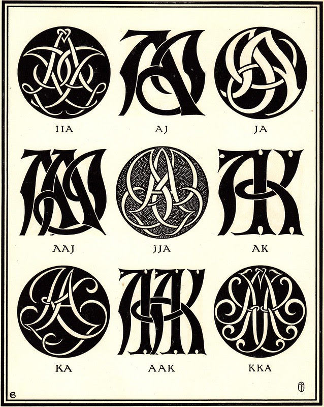Monograms & Ciphers by AA Turbayne 1912 c