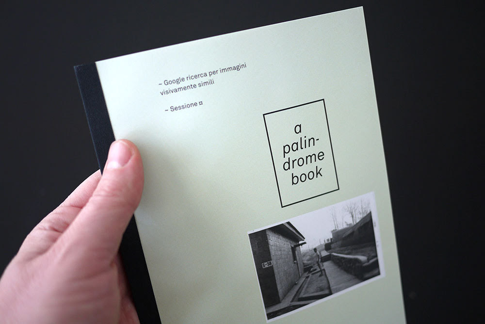 Antonini, Federico. A palindrome book. PoD, 2012, 96 pages.