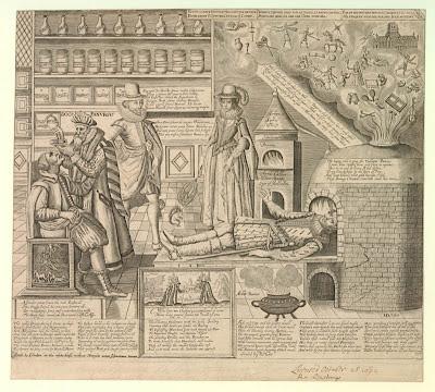 Doctor Panurgus allegorical print