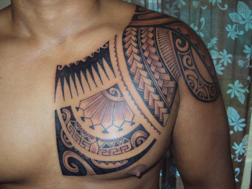 Awesome Tattoo On Chest For Man Tattoomagz