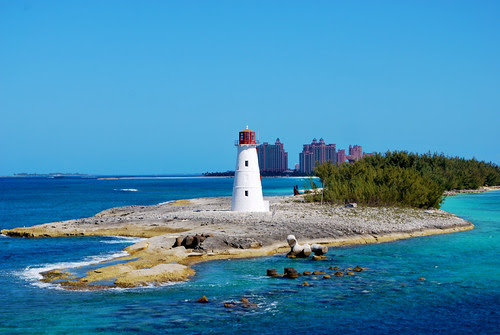 Hog Island Light with Atlantis Behind