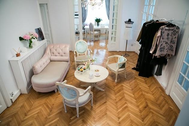 Andrea Marcuta's french modern designer salon