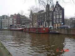 Sebuah Canal di Amsterdam, Netherlands