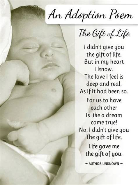adoption poems from parents to adopted child   an adoption