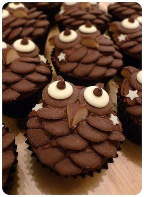 1000  ideas about Owl Cupcakes on Pinterest   Easy owl
