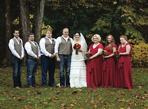 Red Fall Wedding   Adrale   Nicole   The Pink Bride