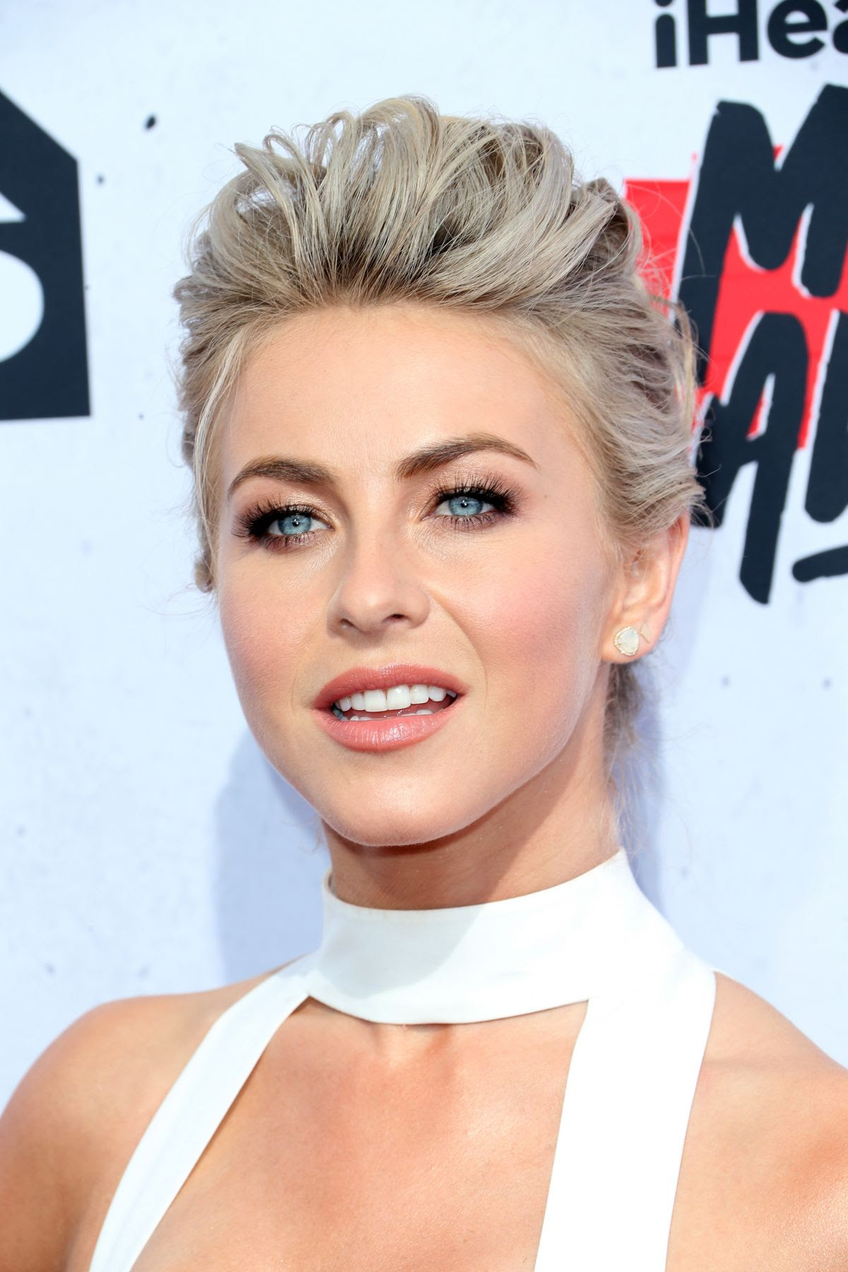 JULIANNE HOUGH at iHeartRadio Music Awards in Los Angeles 04/03/2016