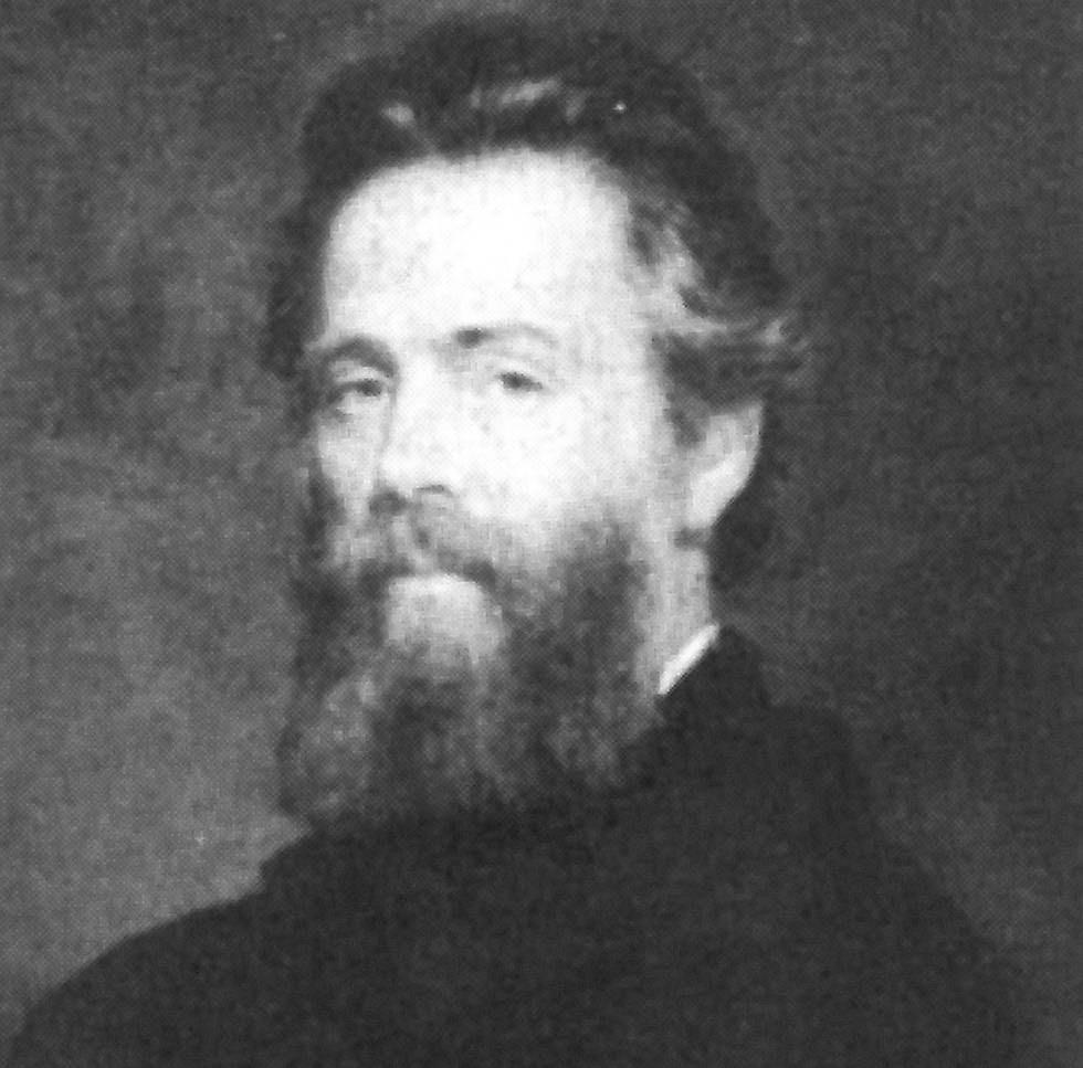 El escritor Herman Melville