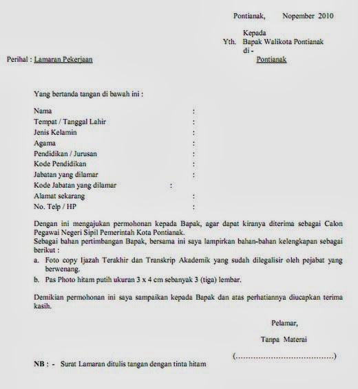 Contoh Surat Di Indonesia Mencari Contoh Contoh Surat ...
