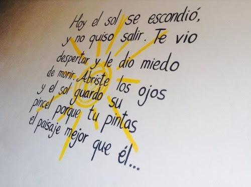 Love Frases Amor Ojos Sol Me Gustas Morir Tu Y Yo Paisaje Pincel