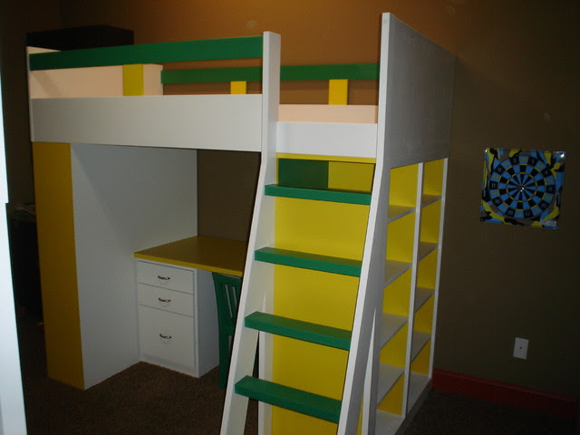 Bunk Beds With Storage And Desk Home Design Online