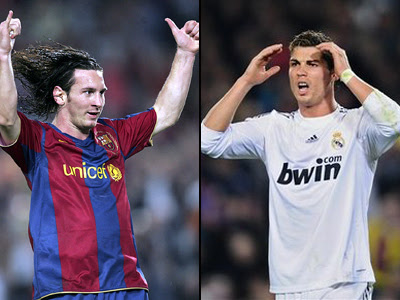 real madrid vs barcelona live. The two best players in world