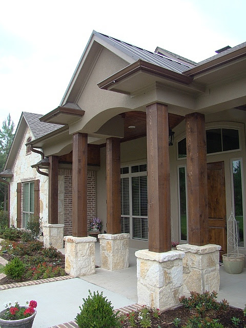 Texas Home Design and Home Decorating Idea Center: Exterior Custom Home Design Ideas