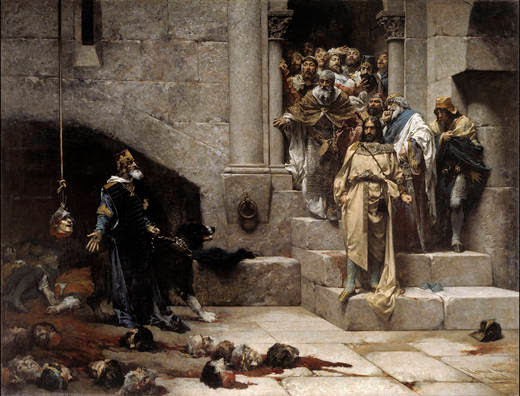 La Leyenda del Rey Monje (Casado del Alisal)