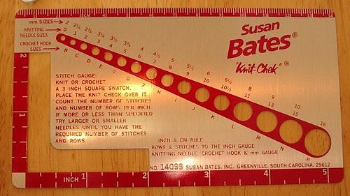 susan bates knittiing hook gauge