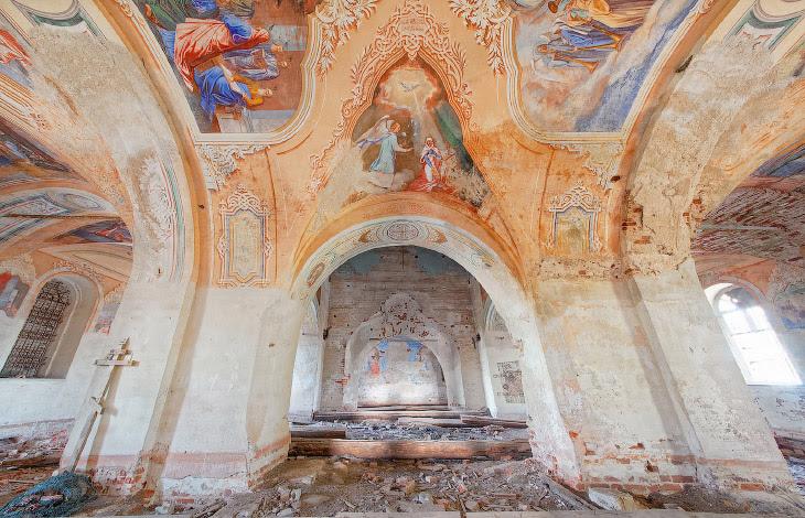 Покинута церква XVIII століття