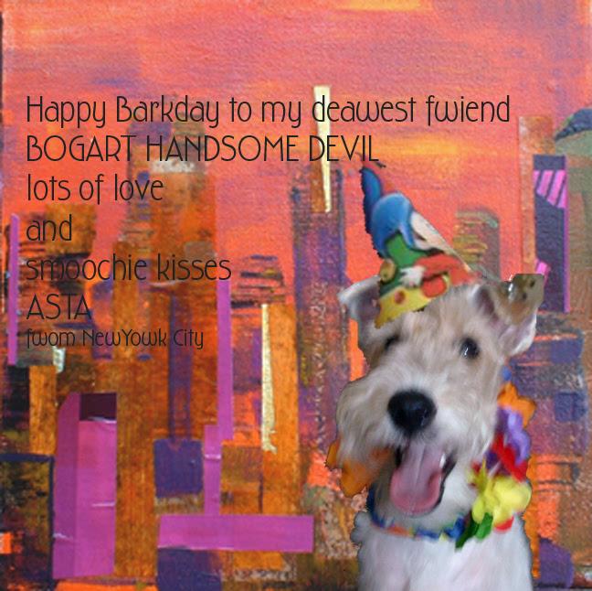 Bogart's BIRTHDAY