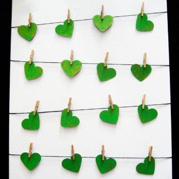St. Patrick's Day Clothesline Art