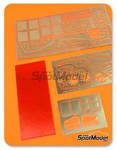 Fotograbados 1/24 Hobby Design - Toyota GT-One TS020 - fotograbados + resinas para kit de Tamiya TAM24222