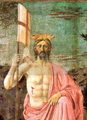 Resurrection by Piero della Francesca