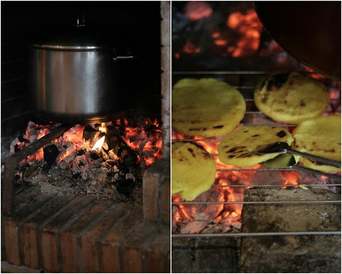 Cooking Tamales & Arepas